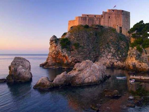 Dubrovnik, Croatia is the real-world setting for King's Landing after season one of GoT.