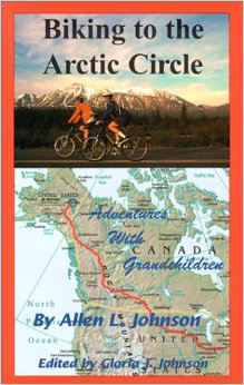 This book details the journey of two cyclists who travel to the Arctic Circle.
