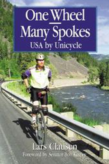 Lars Clausen made a record-breaking journey across 50 U.S. states on a unicycle.