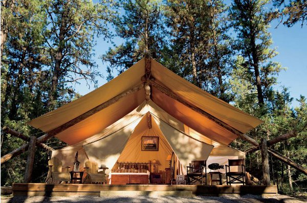 The Resort at Paws Up is so posh that it offers glampers a little hired help.