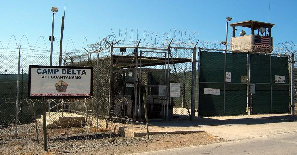 Camp Delta at Guantánamo Bay. Could the US be building something similar on Socotra Island?