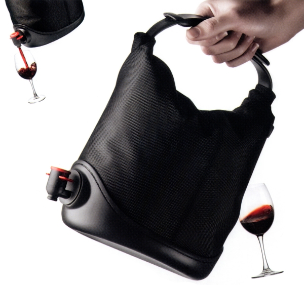 The Wine Sack offers an easy way to conceal your libations.
