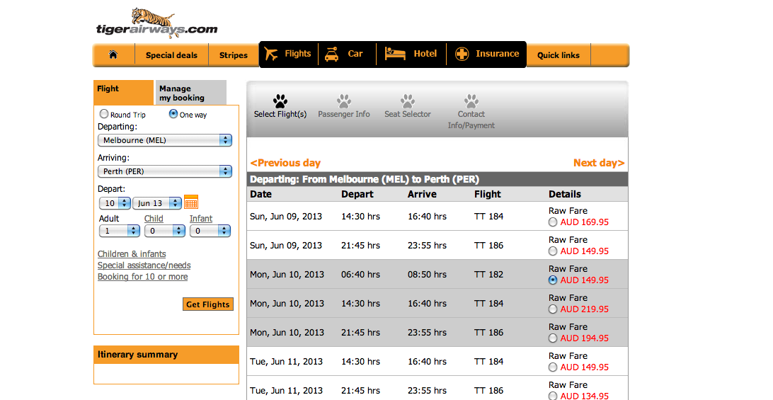 Avoid Paying Extra Charges And Fees On Tiger Airways